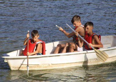 Paseo en canoas