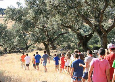 Senderismo, actividades para colegios