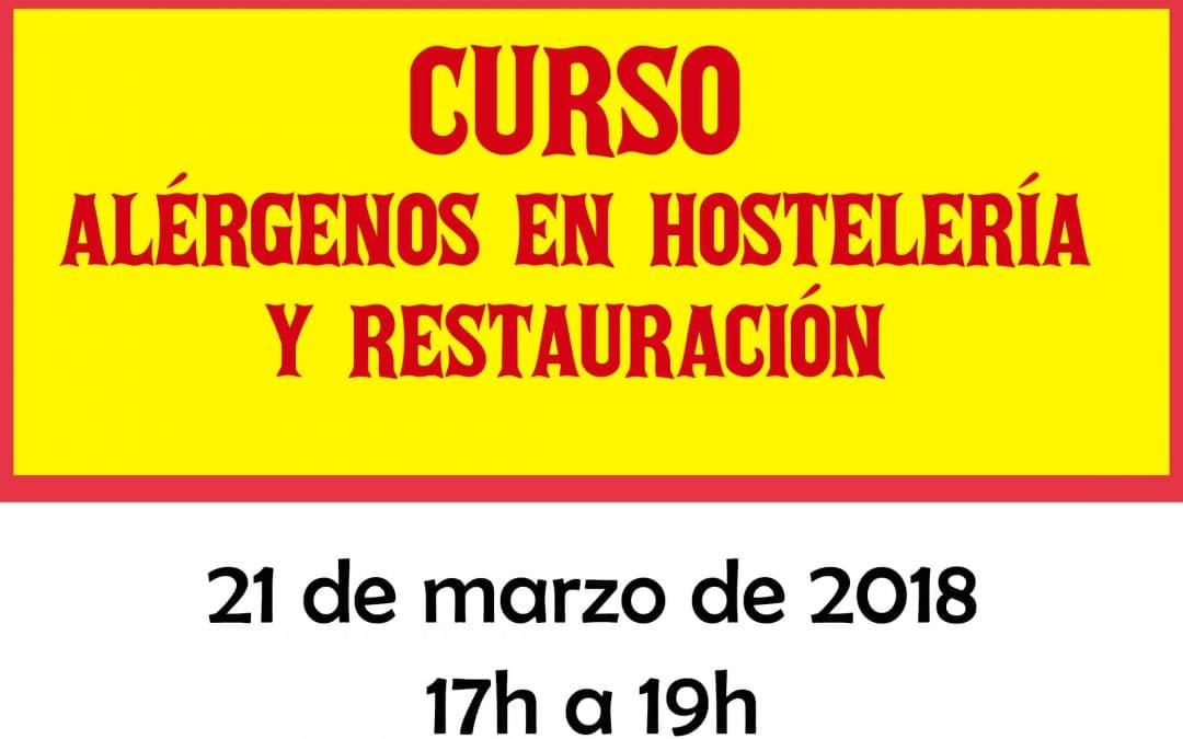 CURSO DE ALÉRGENOS