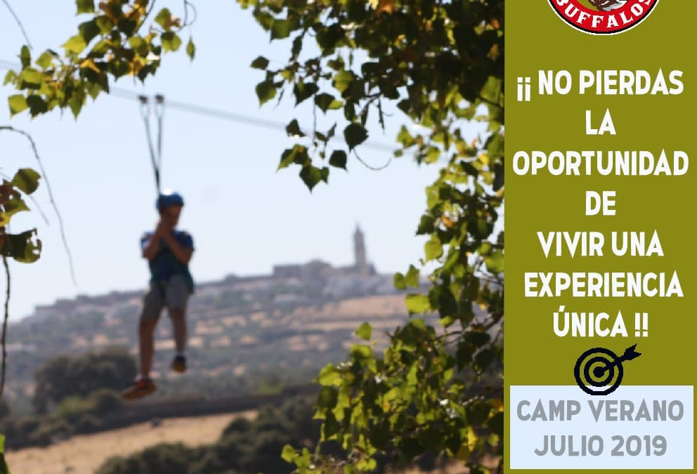 Campamento en Sevilla